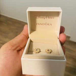 Pandora x Disney Flower Earrings
